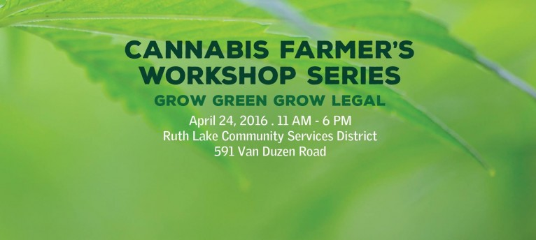 Cannabis Farmer's Workshop Series