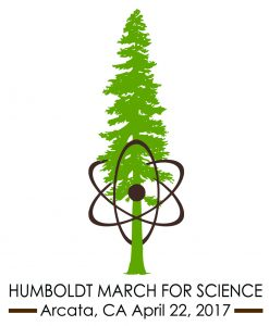 March for Science Humboldt logo